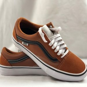 31fe78038f84 Vans Shoes - Vans Old Skool Pro GLA Glazed Ginger Black White.